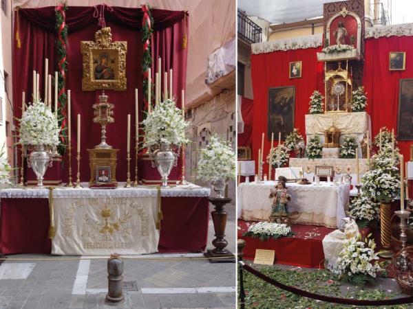 Altar Corpus Christi y Semana Santa | Santuario Perpetuo Socorro de Granada