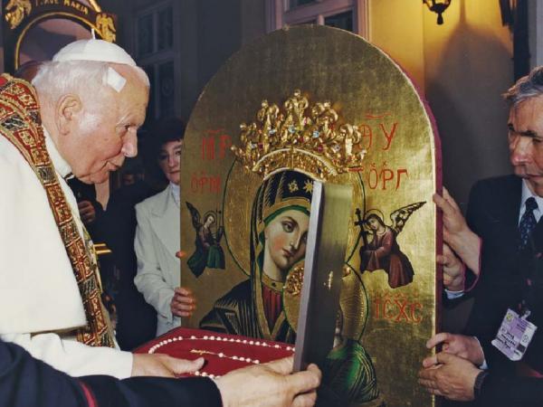 El Icono del Perpetuo Socorro y los Papas