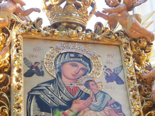 Procesión del Icono de Ntra. Sra. del Perpetuo Socorro | Año 2014