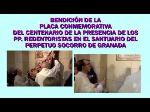 Celebración de clausura de los 100 años de Presencia Redentorista en el Santuario del Perpetuo Socorro de Granada | Grabación, realización y montaje por Antonio Mezcua.