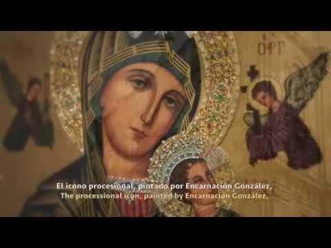 Breve historia del Icono del Perpetuo Socorro que puede ser contemplado en el expositor del Santuario del Perpetuo Socorro de Granada.
