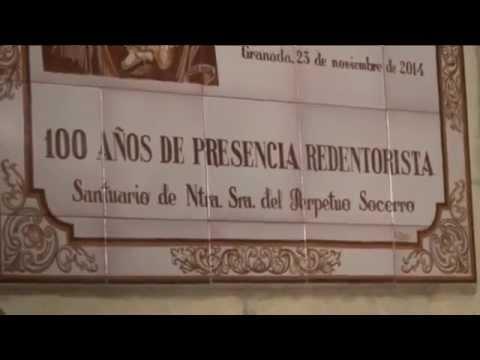 Un pequeño resumen de la Celebración de Clausura de los 100 años de Presencia Redentorista en el Santuariod el Perpetuo Socorro de Granada, el pasado domingo 23 de noviembre de 2014 a las 20:00 h.