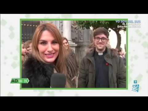 Entrevista al Padre Damián María Montes, misionero redentorista, por el programa 'Andalucía Directo' (Canal Sur) el pasado lunes 2 de enero de 2017
